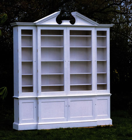 Library bookcases, 1 of 5, for historic London property