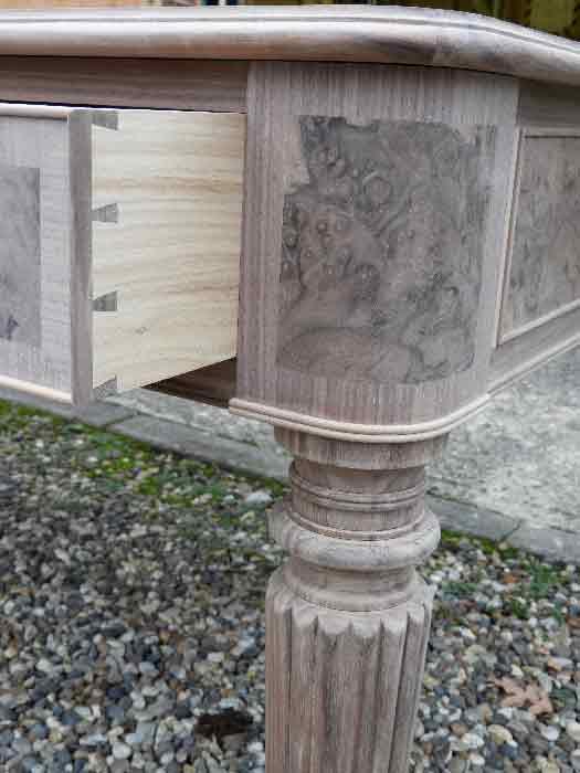 European Walnut Period Desk 3