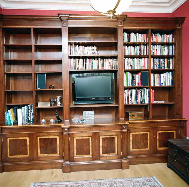 BESPOKE BOOKCASE AND DESK